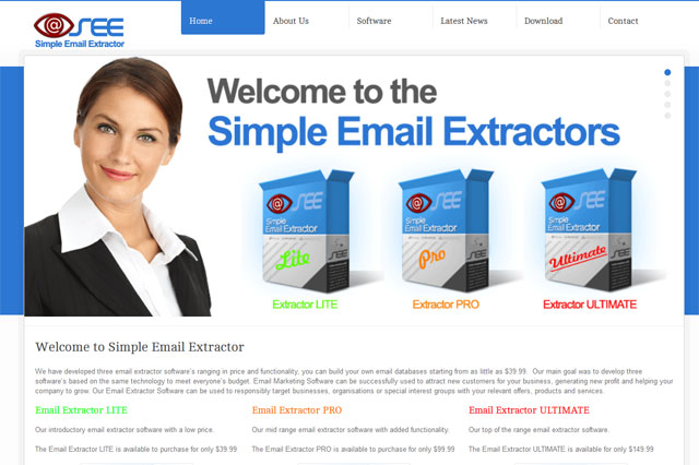 Our New Website Launch – email extractor software